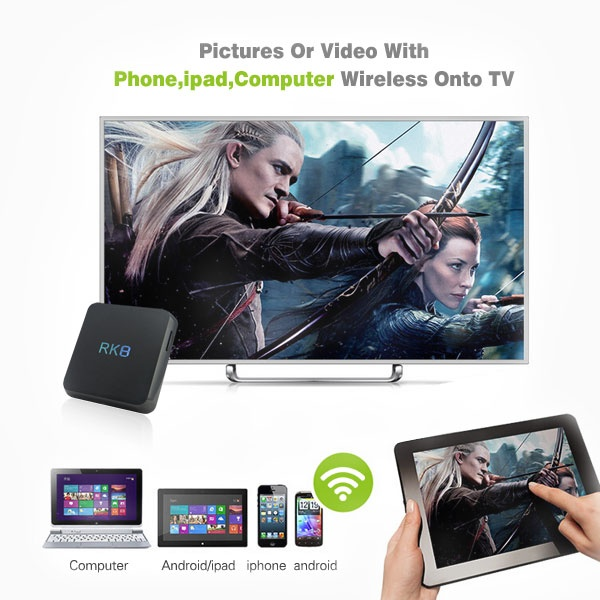 Octa Core Android 5.1 TV BOX