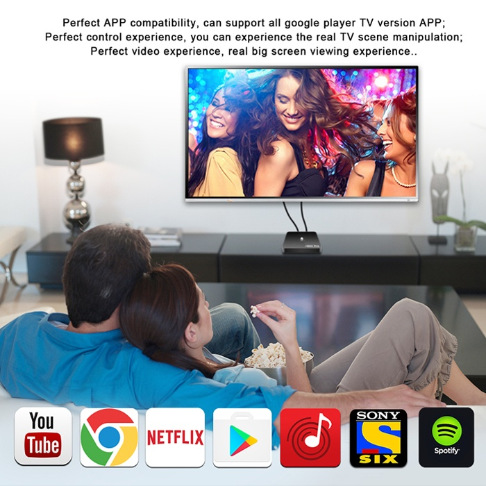 Android TV OS Smart Box