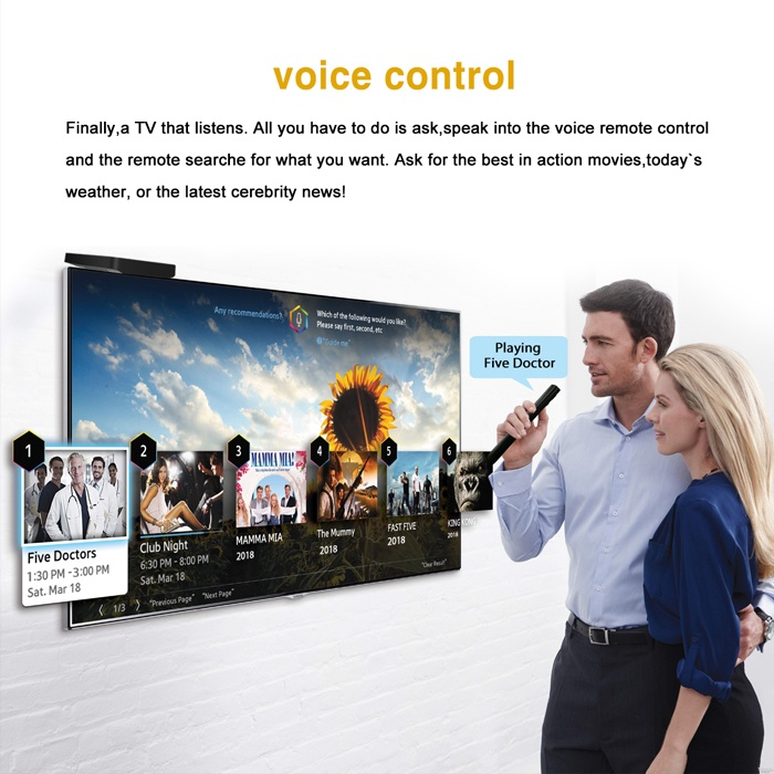 Android TV smart Boxes with Voice